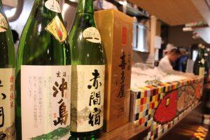 お魚にあう日本酒を取り揃えております